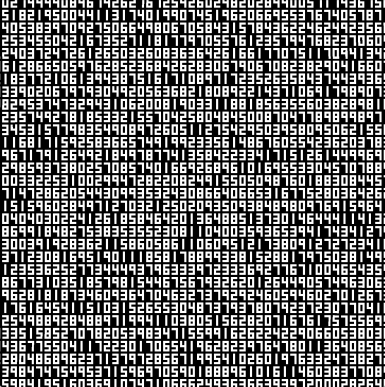 View 1. Thumbnail of Lot 8. A Single Number That Has 10,000,086 Digits.