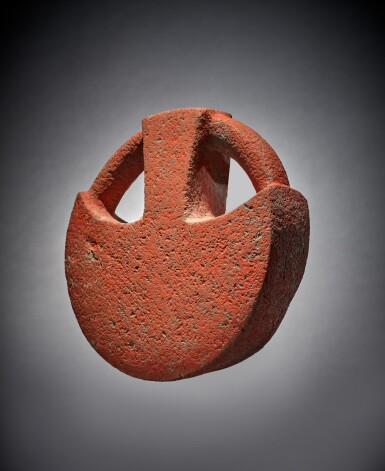 View 2. Thumbnail of Lot 96. Veracruz Stone Manopla.