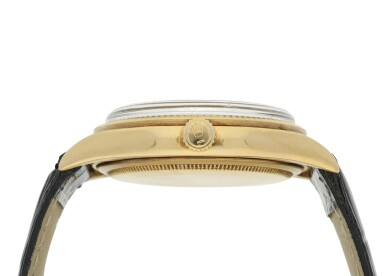 View 5. Thumbnail of Lot 99. ROLEX | REFERENCE 1013 OYSTER PERPETUAL A YELLOW GOLD AUTOMATIC WRISTWATCH, CIRCA 1966.