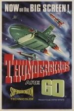 Thunderbirds are Go (1967) poster, British