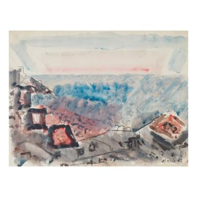 JOHN MARIN | MOVEMENT, SEA AND SKY, CAPE SPLIT, MAINE