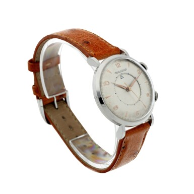 View 3. Thumbnail of Lot 240. MEMOVOX A STAINLESS STEEL ALARM WRISTWATCH, CIRCA 1960.