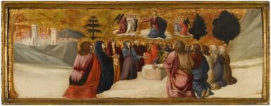View 3. Thumbnail of Lot 42. GIOVANNI ANGELO D'ANTONIO DA CAMERINO  |  THE ASCENSION OF CHRIST.
