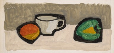 ROBERT M. KULICKE | CUP, PEPPER AND PEACH