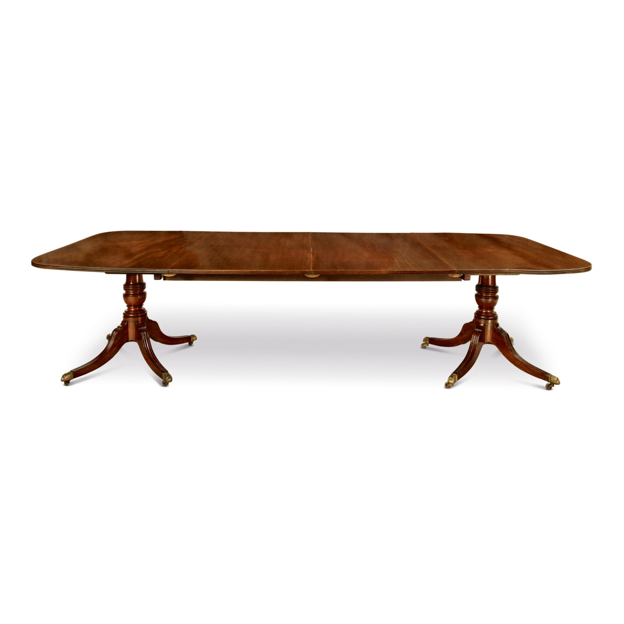 A Regency Mahogany Two Pedestal Dining Table First Quarter 19th Century Style Silver Furniture Ceramics2020 Sotheby S