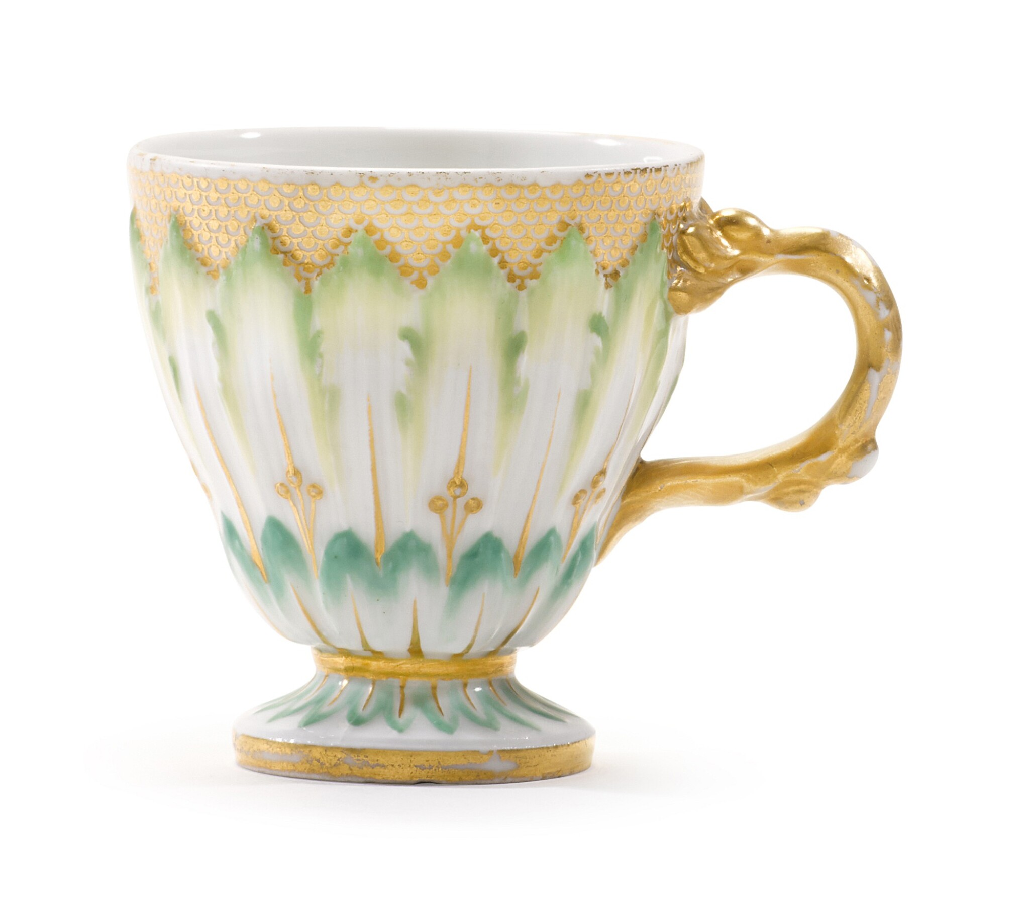 A BERLIN (K.P.M) CUP FROM THE CATHERINE THE GREAT SERVICE, CIRCA 1770-72