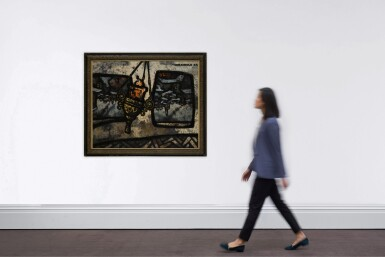 View 4. Thumbnail of Lot 33. Urban Landscape with Oil Lamp.