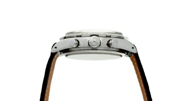 View 5. Thumbnail of Lot 280. Reference 6239 'Paul Newman' Daytona  Retailed by Linz Brothers: A stainless steel chronograph wristwatch, Circa 1968 .