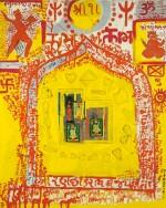 BHUPEN KHAKHAR | Interior of a Hindu House - I