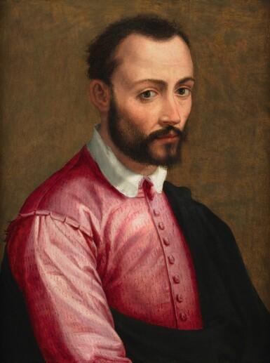 View 1. Thumbnail of Lot 128. JACOPO COPPI, CALLED DEL MEGLIO  |   PORTRAIT OF FRANCESCO I DE' MEDICI (1541 - 1587), HALF-LENGTH.