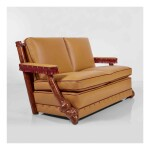 A Unique Two-Seat Sofa