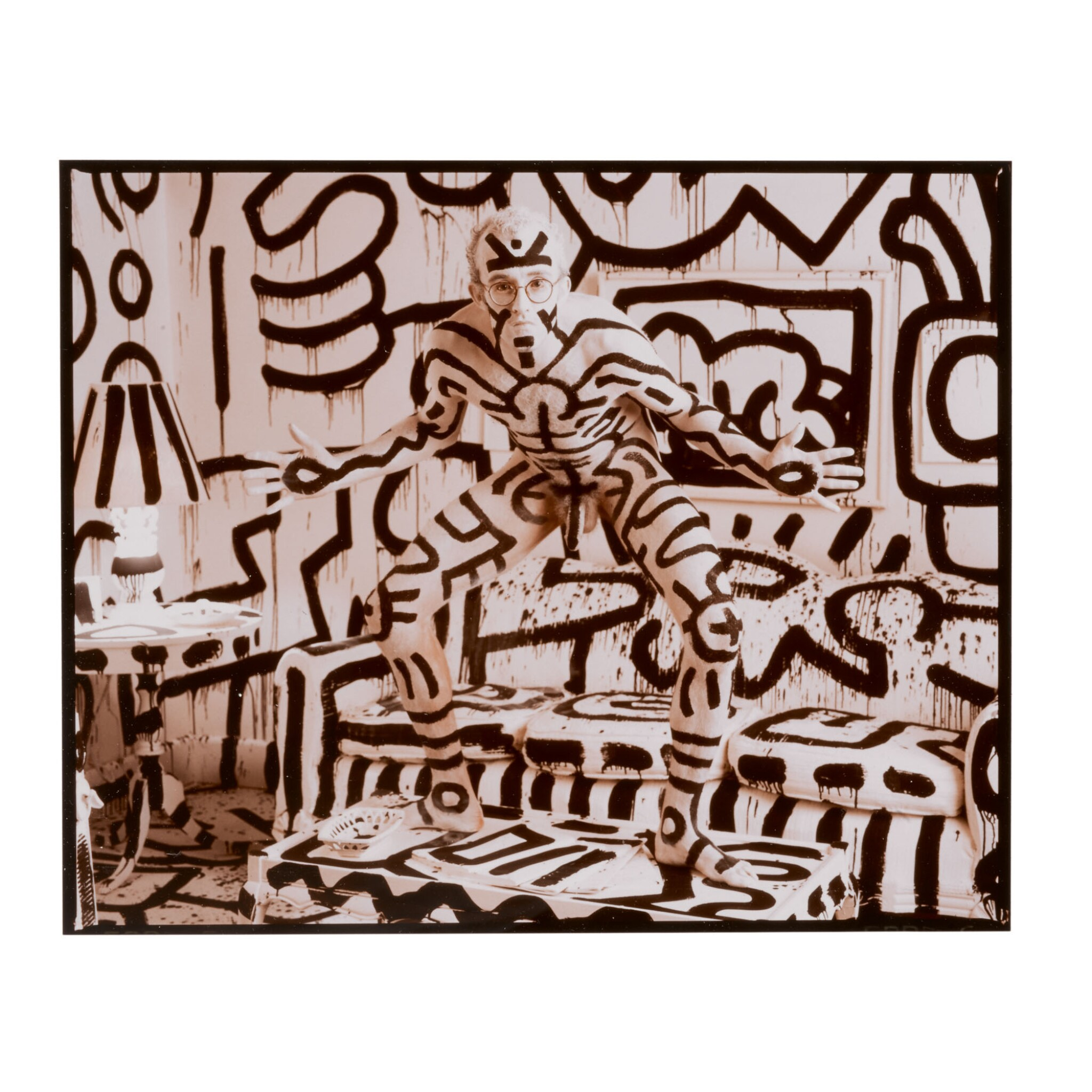 View full screen - View 1 of Lot 40. ANNIE LEIBOVITZ | 'KEITH HARING, NEW YORK'.
