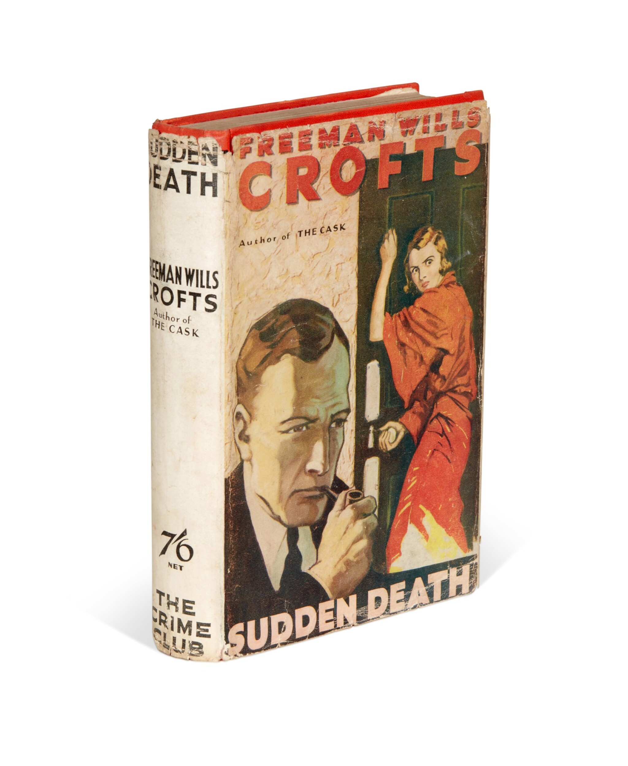 View full screen - View 1 of Lot 78. Freeman Wills Crofts | Sudden Death, 1932.