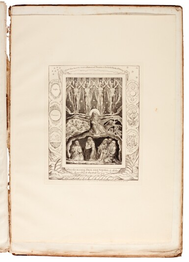 View 4. Thumbnail of Lot 91. BLAKE | Illustrations of the Book of Job, 1825 [but 1826].