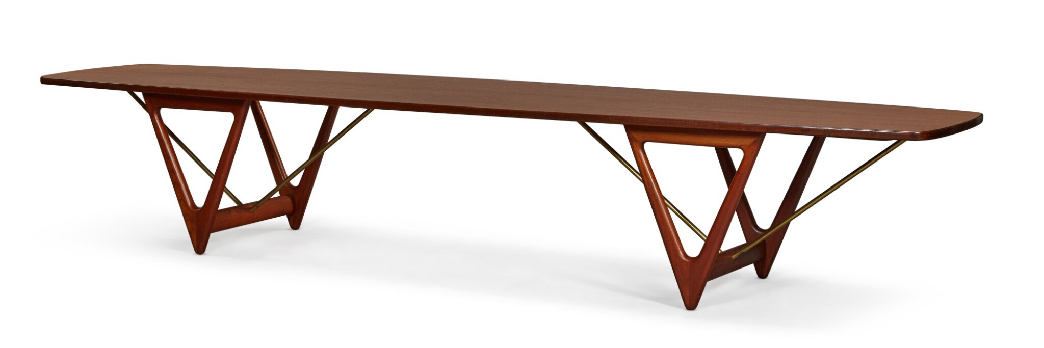 View full screen - View 1 of Lot 171. KURT ØSTERVIG | SURFBOARD COFFEE TABLE.