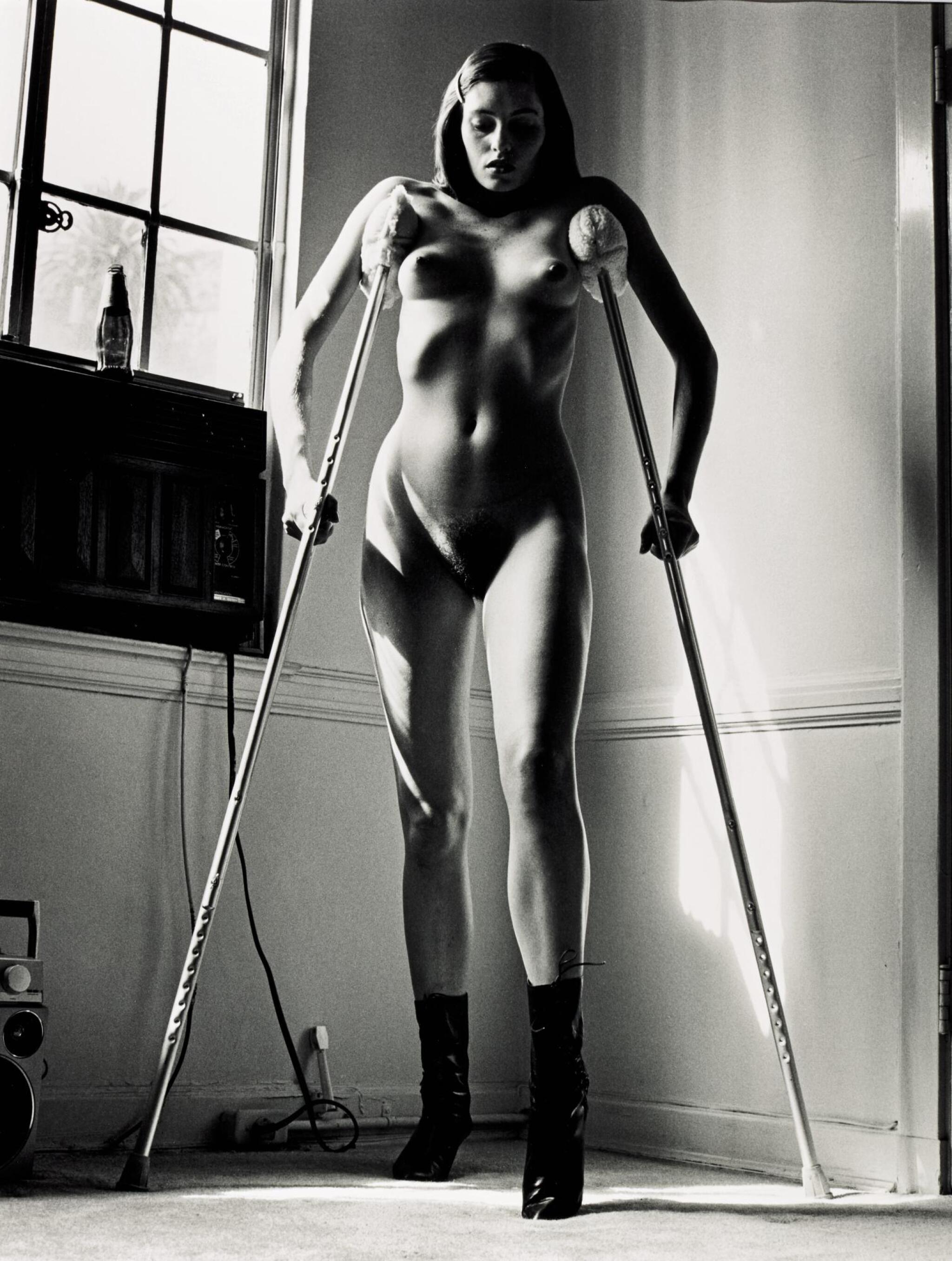 View 1 of Lot 65. HELMUT NEWTON | 'ERICA'S ACCIDENT', HOLLYWOOD, 1987 .