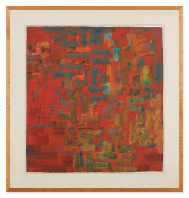 View 2. Thumbnail of Lot 201. AD REINHARDT   UNTITLED.