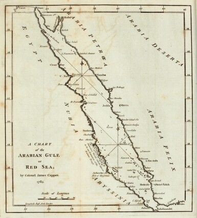 Capper | Observations on the passage to India, through Egypt, 1785