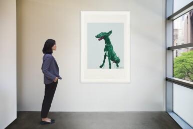 View 4. Thumbnail of Lot 48. ZHOU CHUNYA | GREEN DOG.