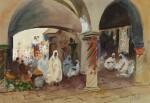 HERCULES BRABAZON BRABAZON | The Bazaar Souk-el-Alharini, Tunisia