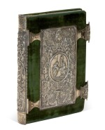 [Dürer], A set of engravings copied from Dürer's Small Passion, in a silver binding