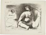 PABLO PICASSO | DEUX FEMMES ACCROUPIES (B. 790; M. 274)