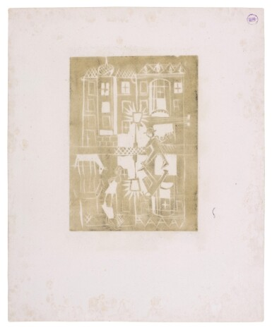 View 14. Thumbnail of Lot 60. Neun Holzschnitte (K. 23-31) (Nine woodcuts (K. 23-31)) .