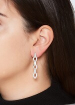 PAIR OF DIAMOND EARRINGS, 'DIADEA', CARTIER
