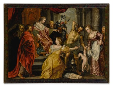 AFTER SIR PETER PAUL RUBENS | THE JUDGEMENT OF SOLOMON