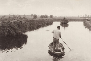 View 4. Thumbnail of Lot 33. England—Peter Henry Emerson and T.F. Goodall | Life and Landscape on the Norfolk Broads. London, 1886.