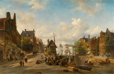 View 1. Thumbnail of Lot 89. The Singel and Brouwersgracht, Amsterdam.