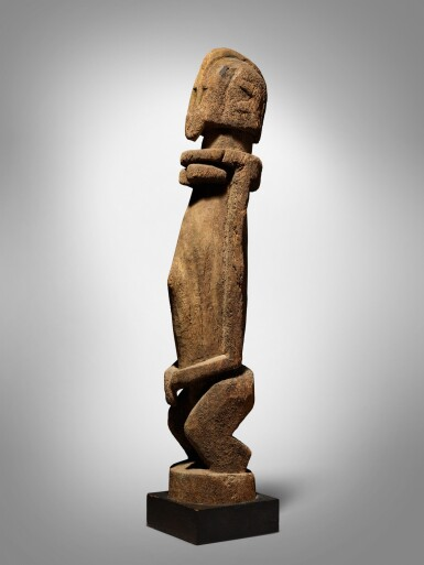 View 1. Thumbnail of Lot 60. Dogon Figure, Mali.