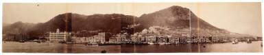 Hong Kong | two photograph panoramas, early 1900s
