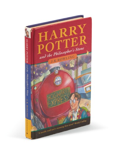 Rowling, Harry Potter and the Philosopher's Stone, 1997, first edition