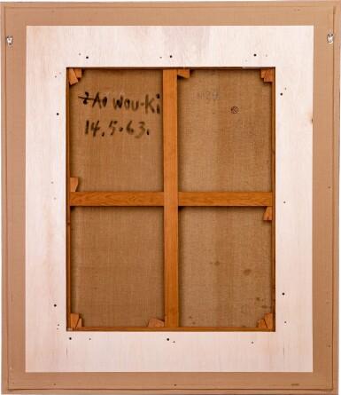 View 3. Thumbnail of Lot 18. Zao Wou-Ki 趙無極   14.05.63.