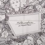 "Hermès ""Metamorphoses Par Hermès-Paris"" Silk Twill Scarf 90cm"