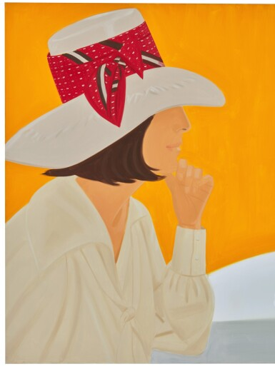 View 2. Thumbnail of Lot 28. ALEX KATZ | THE RED BAND.