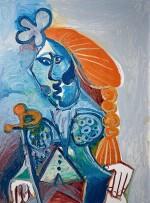 Pablo Picasso 巴布羅・畢加索 | Buste de matador 鬥牛士