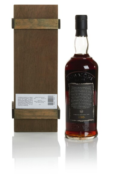 View 2. Thumbnail of Lot 321.  BOWMORE BLACK SECOND RELEASE 50.0 ABV 1964  .