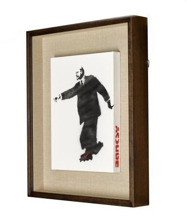 View 3. Thumbnail of Lot 125. Lenin on Roller Skates.