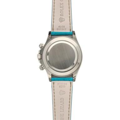 View 5. Thumbnail of Lot 211. Reference 116519 'Daytona Beach'  A white gold automatic chronograph wristwatch, Circa 2000.