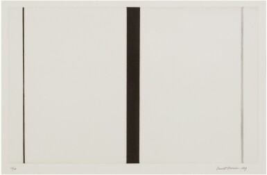 View 1. Thumbnail of Lot 204. BARNETT NEWMAN | UNTITLED ETCHING 1.