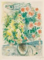 AFTER MARC CHAGALL | ROSES ET MIMOSAS (M. CS. 29)
