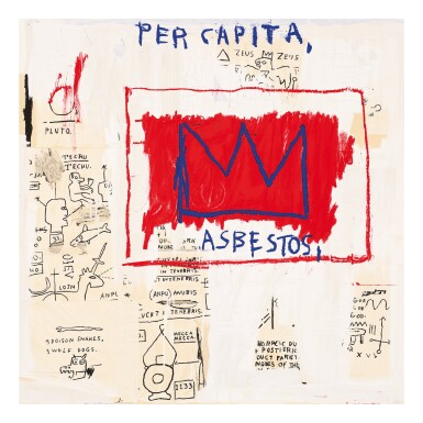View 3. Thumbnail of Lot 58. AFTER JEAN-MICHEL BASQUIAT | UNTITLED (HEAD; PER CAPITA; ERNOK; AND RINSO).