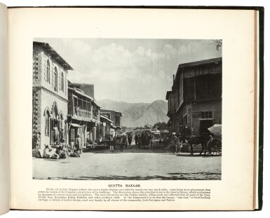 View 4. Thumbnail of Lot 298. Bremner | Baluchistan illustrated, Quetta, 1900.