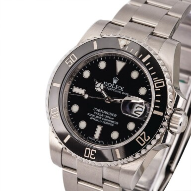 View 1. Thumbnail of Lot 1. ROLEX | Submariner, Ref. 116610LN, A Stainless Steel Wristwatch with Bracelet, Circa 2017  .