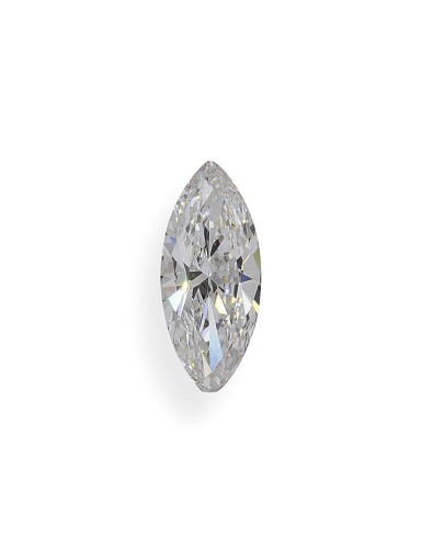 View 1. Thumbnail of Lot 6. A 1.51 Carat Marquise-Shaped Diamond, E Color, Internally Flawless.