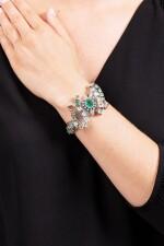 BRACELET ÉMERAUDES ET DIAMANTS | EMERALD AND DIAMOND BRACELET