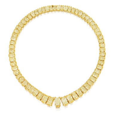 COLORED DIAMOND NECKLACE, MICHAEL BEAUDRY | 彩色鑽石項鏈,Michael Beaudry