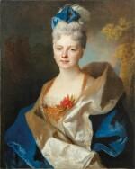 Presumed portrait of the Countess Elisabeth de Saint-Périer (1701-1777)